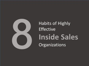 Inside Sales - Eight Habits of Highly Successful