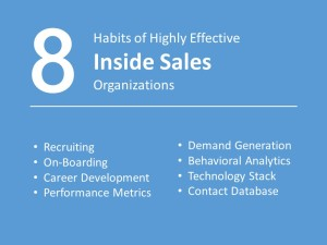Inside Sales - 8 Habits